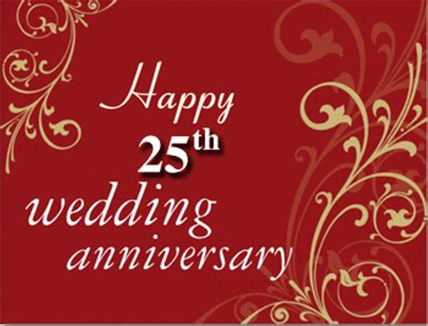25th wedding anniversary or marriage anniversary wishes