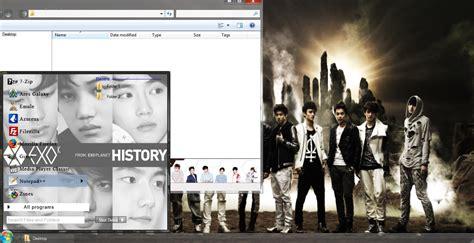 kpop theme exo my kpop fanatik exo k win 7 download theme