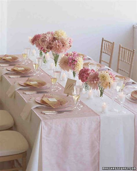 pretty tables spring wedding themes pretty pastels martha stewart
