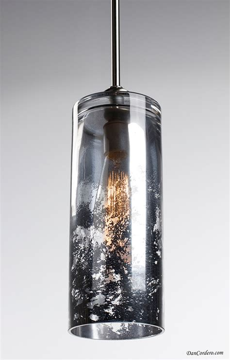 mercury glass pendant light fixtures mercury glass pendant light fixture brushed nickel