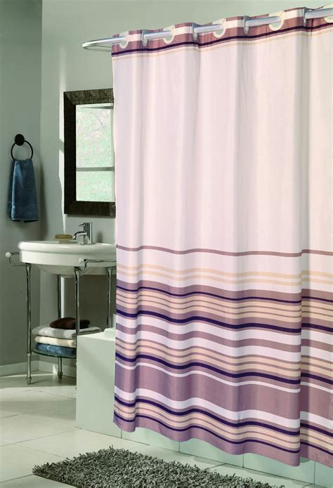 no hook shower curtain carnation home fashions inc quot ez on quot fabric shower