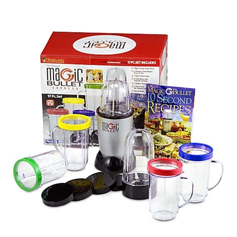 magic bullet bed bath and beyond the original magic bullet express blender and mixer system bed bath beyond