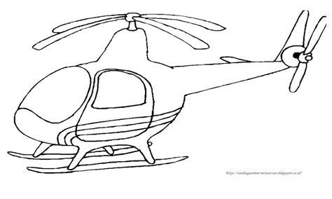 gambar mewarnai helikopter untuk anak paud dan tk aneka gambar mewarnai