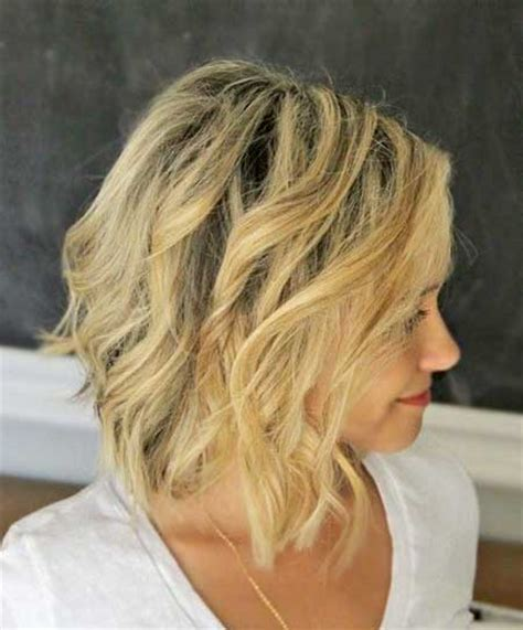 beach wave haircuts with bangs photos beachy waves for short hair short hairstyles 2017 2018