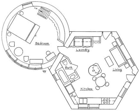 hexagon floor plans a two story roundhouse adjoins a hexagon features include