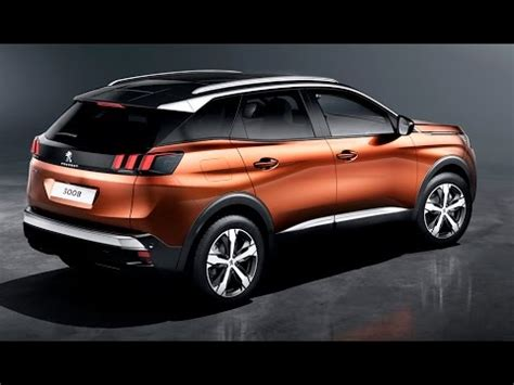 peugeot 206 suv 2017 peugeot 3008 suv interior exterior and drive