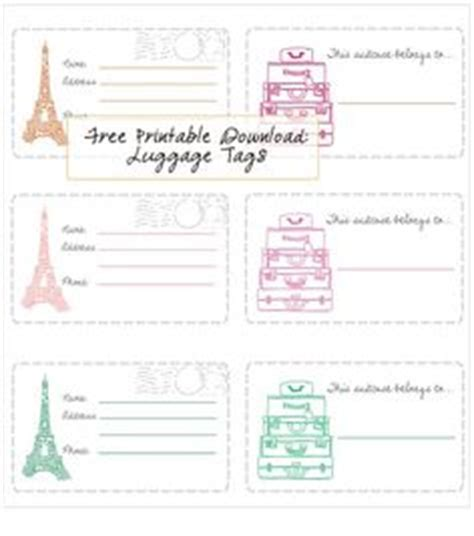 1000 images about printable luggage tags on pinterest