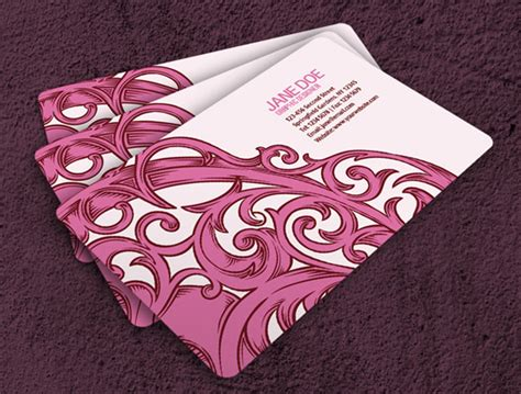 girly business card templates girly business cards fragmat info