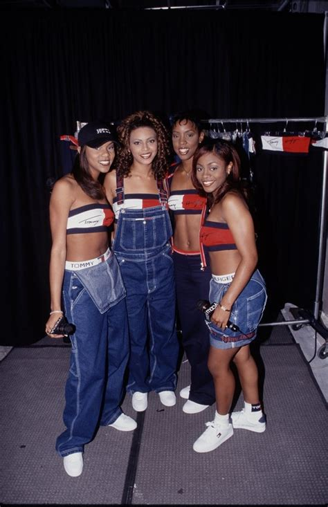 Back To 1999 By Desty Permata Sari a look back at destiny s child s most iconic coordinated looks huffpost