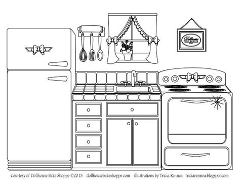 toy kitchen coloring page pinterest discover and save creative ideas