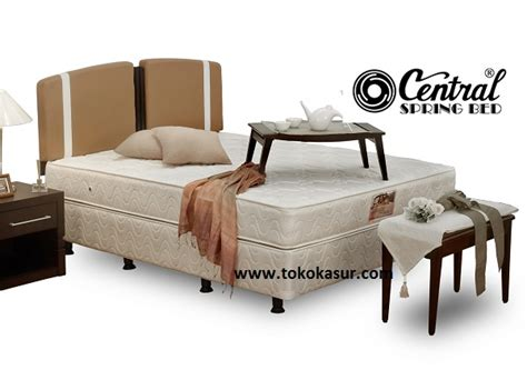 Springbed Central Deluxe Pt 120x200 bed central central springbed harga central central deluxe central sport