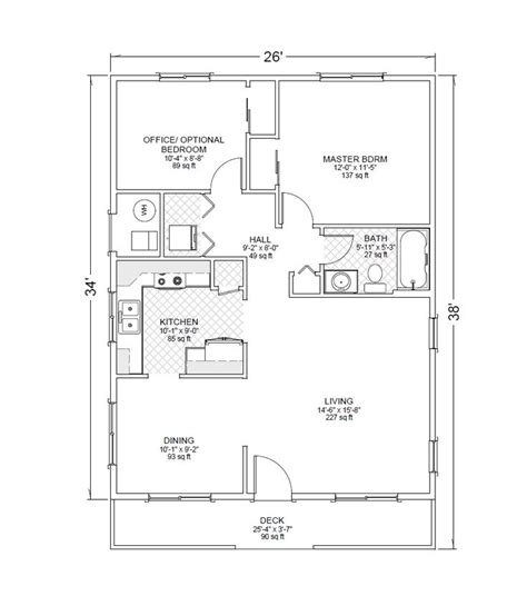 garage guest house floor plans detached two car garage with casita floor plan