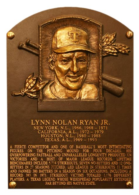ryan nolan baseball hall of fame