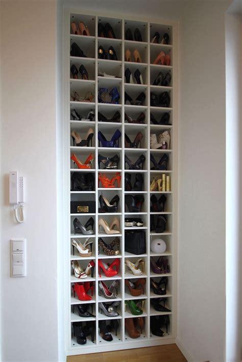 schmales schuhregal einbauregale b 252 cherregale cabinetworks individuelle