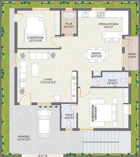 10 square west floor plans praneeth pranav floor plan 2bhk 2t west facing sq