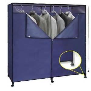 60 inch portable closet with wheels 676 shfs