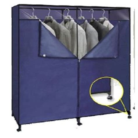 Portable Wardrobe Closet On Wheels - 60 inch portable closet with wheels 676 shfs
