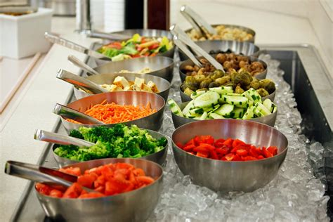 What S For Lunch At The Mount Today Chef Dennis Best Buffet Salads