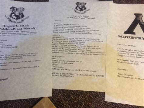 Hogwarts Acceptance Letter Delivery Send You A Personalized Hogwarts Acceptance Letter By Nickysibz