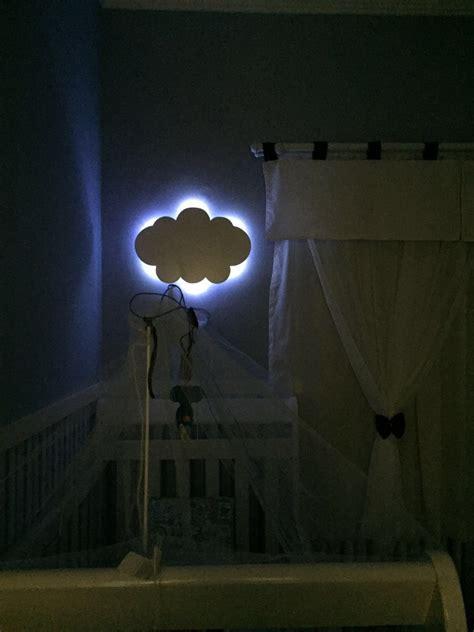 nuvem  luz de led luminaria  led quarto de bebe