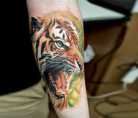 tiger tattoo photo gallery tiger tattoo by led coult no 1140