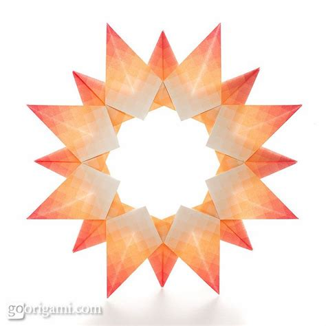 Sun Origami - 1000 images about origami rings on