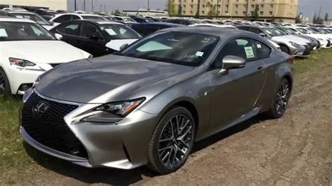lexus rc f silver atomic silver on 2015 lexus rc 350 awd f sport