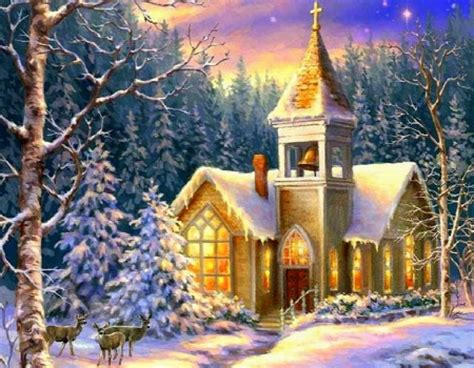 desktop nexus christmas winter church winter nature background wallpapers on desktop nexus image 1884457