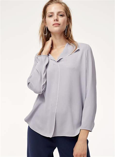 Top Blouse blouses aritzia