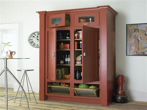 free standing cabinets for kitchens free standing pantry in black home design