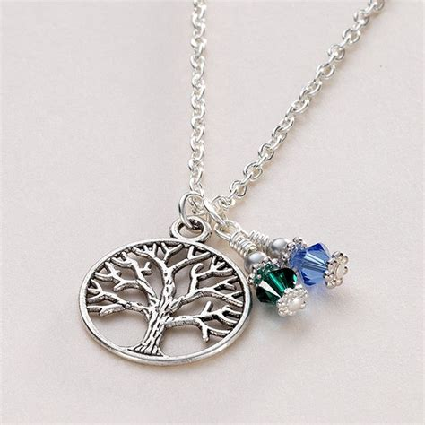 birthstone tree of necklace jewels 4