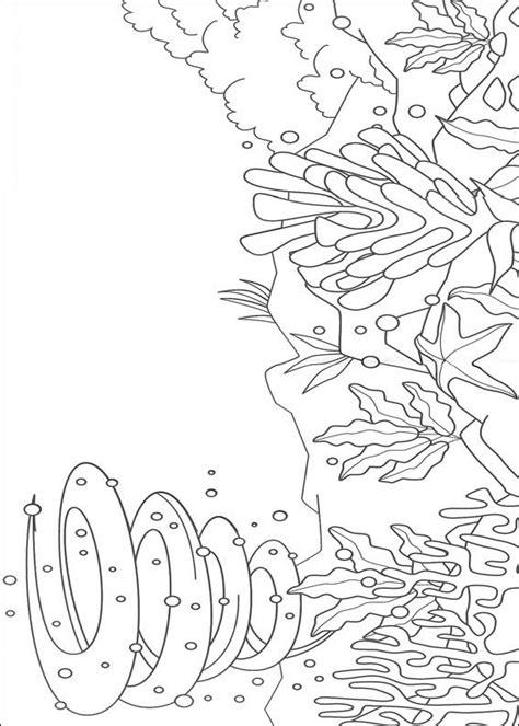 ocean background coloring page desenhos para pintar e colorir o peixe arco iris