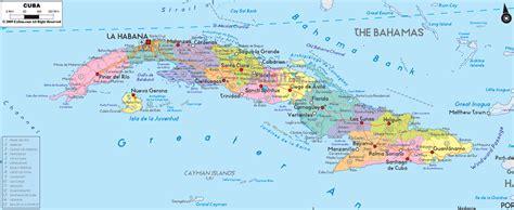 cuba on a map political map of cuba ezilon maps