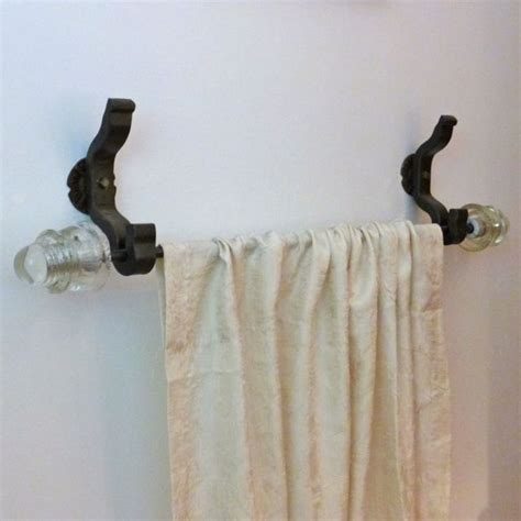 curtain rod anchors rail anchor 1 curtain bracket system pair w glass