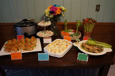 Baby Shower Themed Food by Something For Your Tummy S Baby Shower