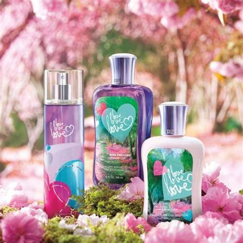 bed body works bath body works love love love bath fragrance body