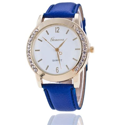 newest wrist watches for girls watch accessories new woman watch women s girls faux leather watches analog