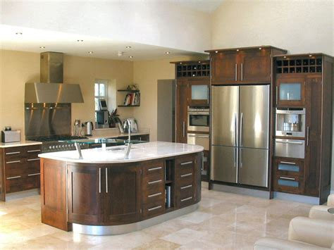 Walnut Kitchen Cabinets by Contemporary Walnut Kitchen Cabinets