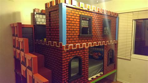 ana white mario castle bunk diy projects
