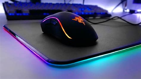 Mouse Razer Black Mamba razer mamba tournament edition overview razer firefly