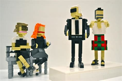 Chic Of The Week Marc By Marc Lego Accessories by Fashion Icons Wintour Karl Lagerfeld Get Lego