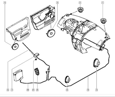 renault twingo fuse box diagram wiring and parts diagram