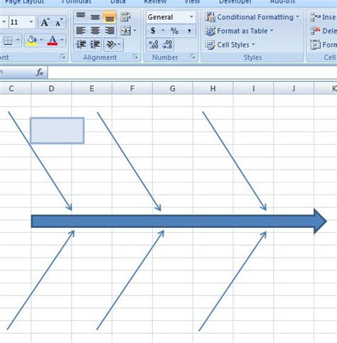 creating excel templates 15 authorized fishbone diagram templates powerpoint