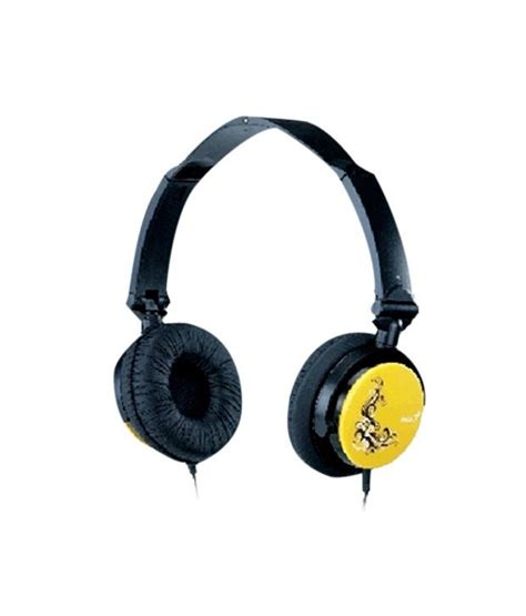 Genius 410f Headset Orange buy genius hs 410f headset with mic yellow at best price in india snapdeal