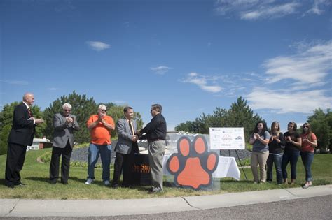 Idaho State Background Check Community Members Idaho State Thank Donors Present Checks To Mayor Blad