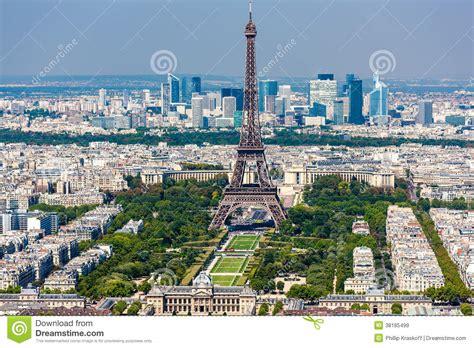 De Montparnasse Its Time by De Toren Eiffel Montparnasse Toren Royalty Vrije
