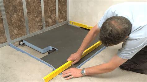 docce a pavimento sistema sottile e completo per docce a filo pavimento gt