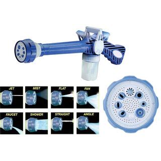 Ez Jet Water Cannon India ez jet water cannon 8 in 1 turbo water spray gun buy ez