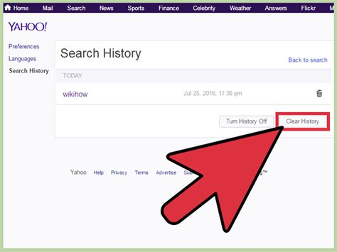 How To Delete Search On Clear Search History Explorer