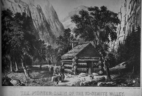 Cabins In Yosemite Valley by Guide To The Pioneer Cemetery 1959 By Lloyd W Brubaker